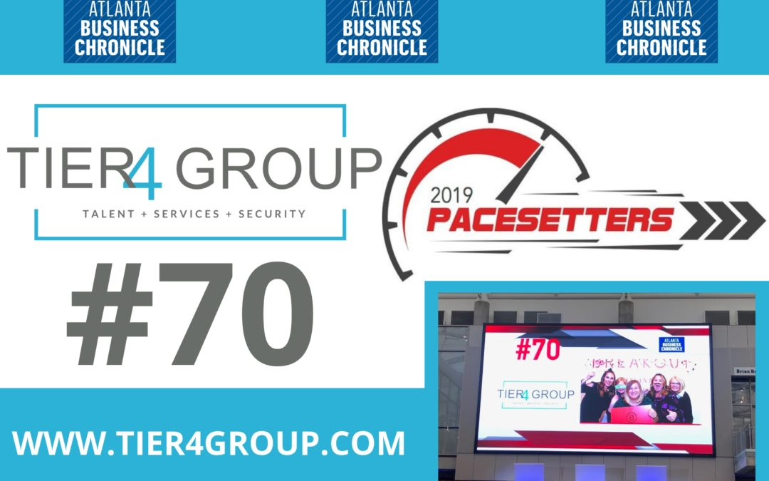 Tier4 Group Named 2019 Atlanta Pacesetter