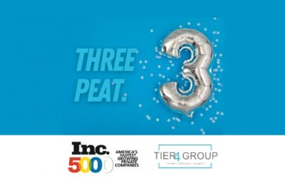 Tier4 Group Appears on Inc. 5000 at No. 968